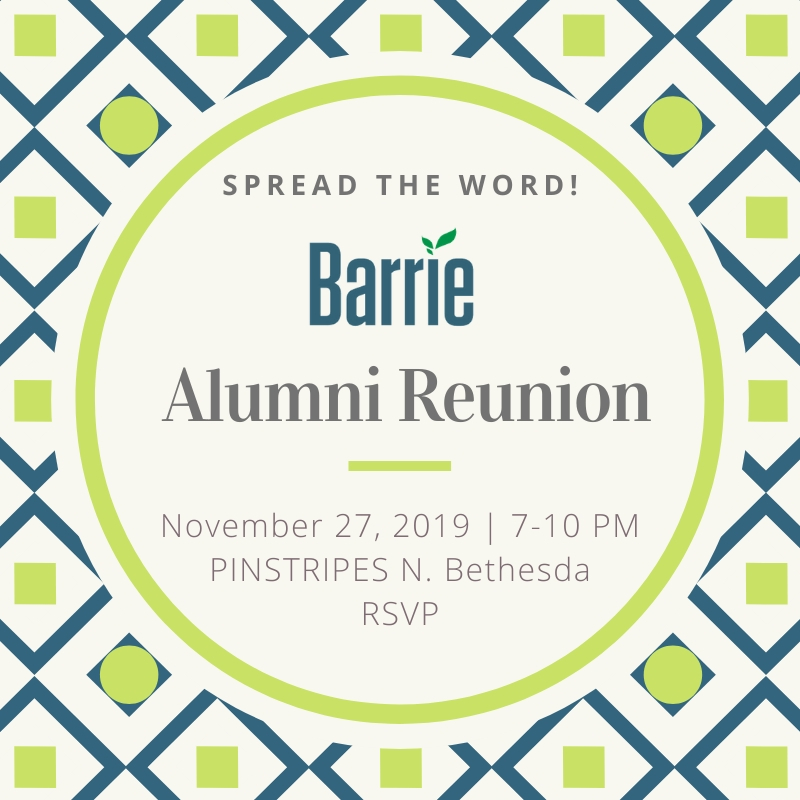 Alumni Reunion - Nov 27