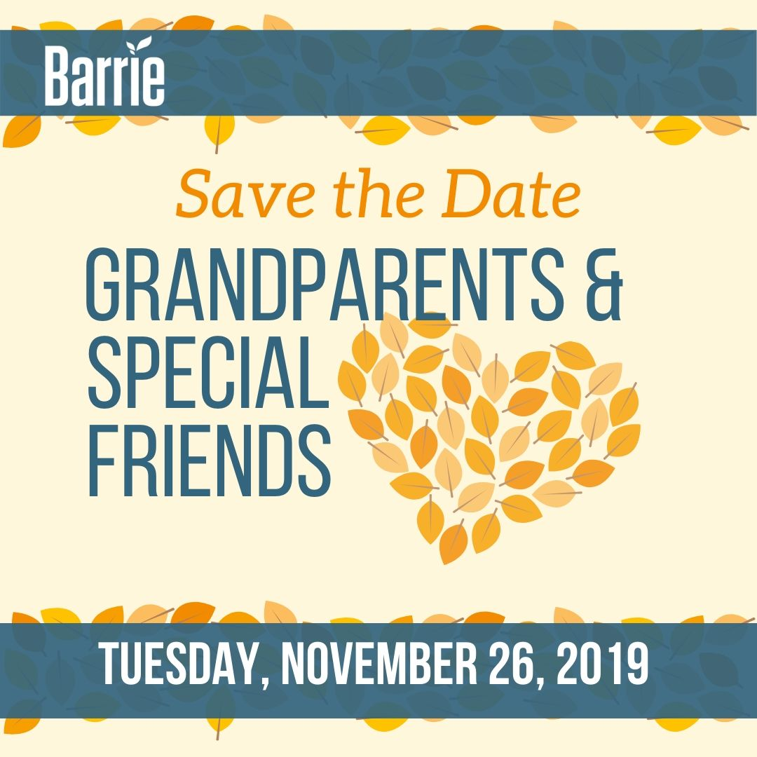 Grandparents and Special Friends Day - Nov 26