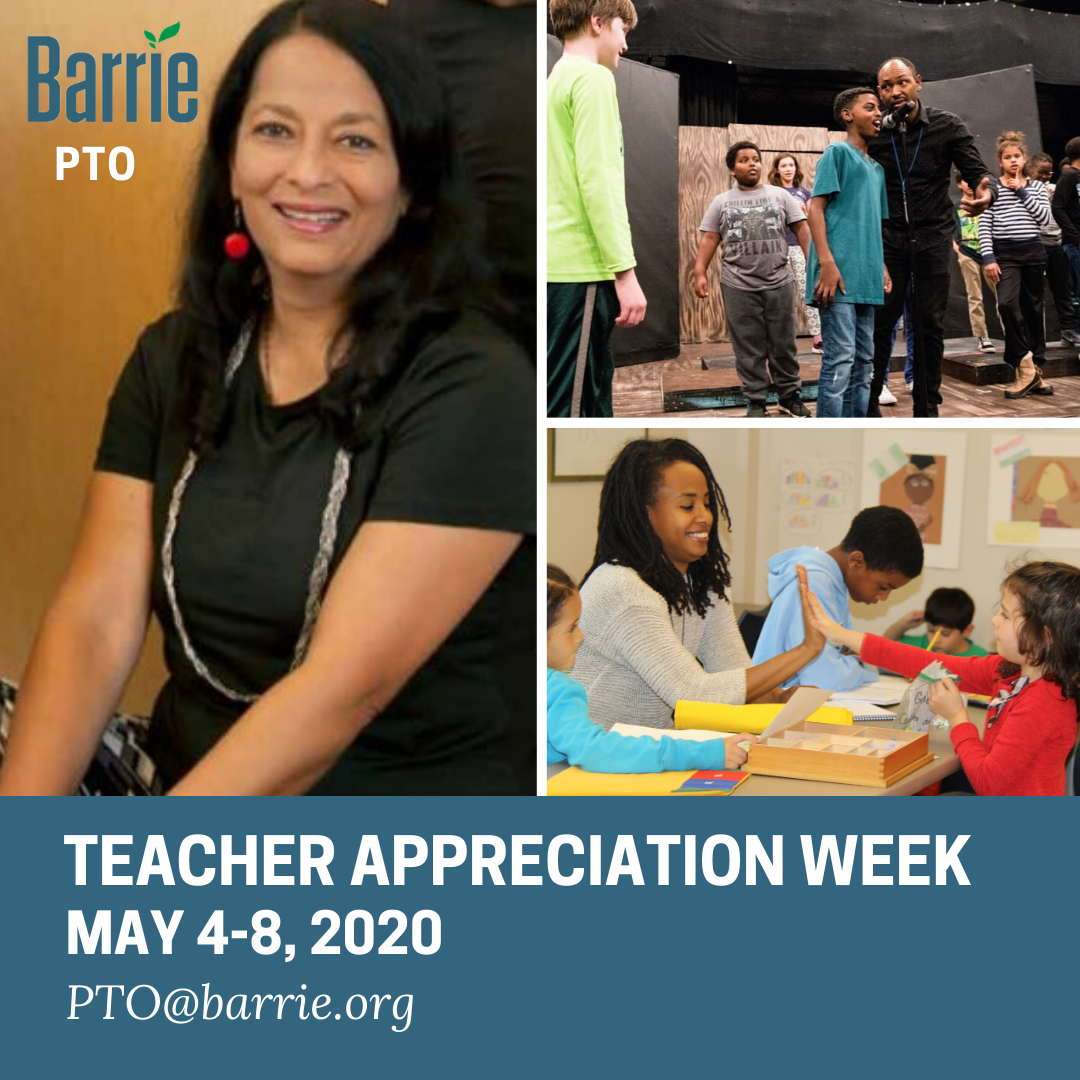 Teacher Appreciation Week - May 4-8: Submit Your Thank You Video!
