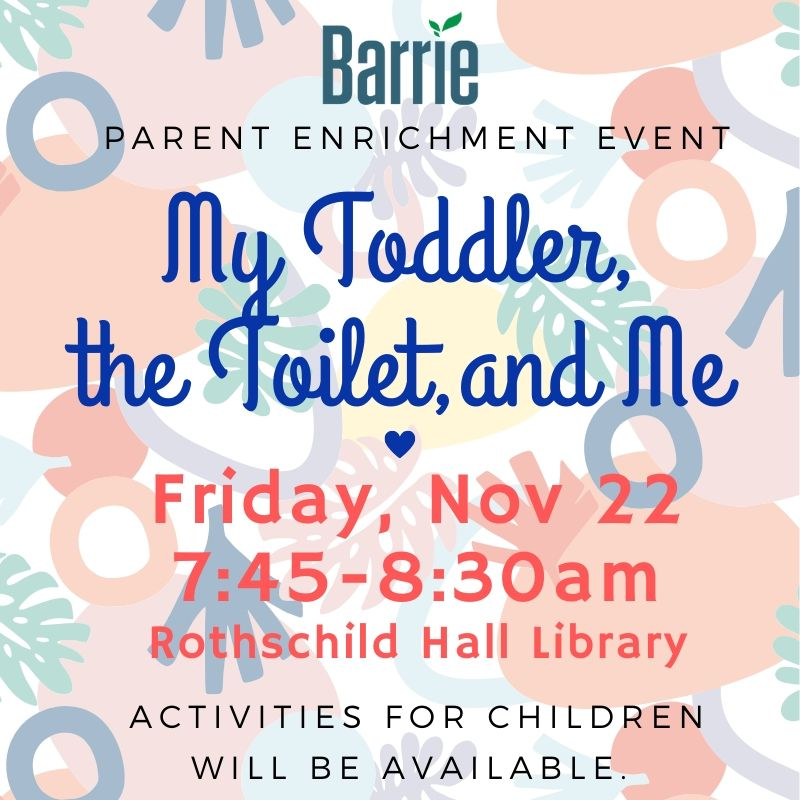 My Toddler, the Toilet, and Me - Nov 22